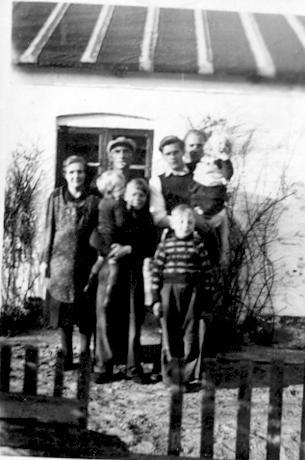 Billede fra søndre side af huset i Løkken.